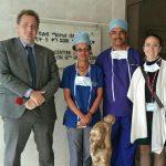 Ambassador Antoine Chevrier, Candian embassy in Ethiopia, visit to cardiac center, September 19,2019