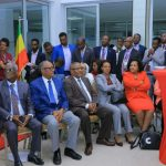 H.E Mr. Gedu Andaregachew, Ministry of Foreign  Affairs Ethiopia, state ministers higher official and Ambassadors visit to Cardiac center Ethiopia, Sep 4/2019