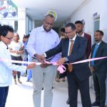 Digital Health management system inauguration ceremony at cardiac Ethiopia in collaboration with MOIT October  25     his Excellency Dr.Engr Getahun Mekuria