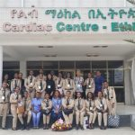 Ethiopian Airlines Aviation crew visit in Cardiac Center Ethiopia, November 2 Thank you for visiting our kids!