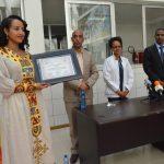 December 15, Official ceremony for Artist Mesret Mebrate Good Will Ambassadorship at cardiac center Ethiopia